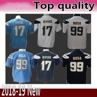 33 Derwin James 28 Melvin Gordon Los Angeles Jersey Chargers 17 Philip  Rivers 99 Joey Bosa Football Jerseys Rush Limited Game b5032a1df