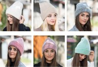 Wholesale smile beanies resale online - Smiling face Beanie Skull Caps knitted Cashmere Eye Warm Couple Lovers Acne Hats Tide Street Hip hop Wool Cap Adult Children