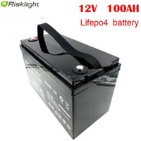 12.8v Lifepo4 Battery 12V 100Ah Lithium Ion Battery Packs For RV Solar System Yacht Golf Carts