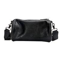 sacos de balde de couro venda por atacado-Casual Mini Chest sacos de ombro Bucket Bag Crossbody Bag peito pequeno pacote de couro impermeáveis Homens e Mulheres Messenger Bags
