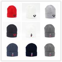 motif de casquette en laine achat en gros de-En gros motif Beanie casquette de mode hiver tricoté golf ski laine polo cap ouHeadgear Coiffe Head Warmer Ski chaud chapeau