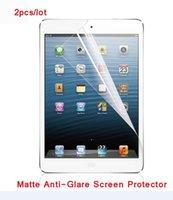 antideslumbrante para ipad al por mayor-2 X ultra claro de la pantalla antideslumbrante mate del protector de la película protectora para el iPad 9,7 2,017 2,018 Aire 1 2 Pro / Para Mini iPad 1 2 3