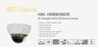 водонепроницаемая камера dahua оптовых-На складе Бесплатная доставка DAHUA 4K Starlight камеры 8MP WDR 3DNR ИК водонепроницаемый HDCVI купольная камера IP67 без логотипа HAC-HDBW2802R