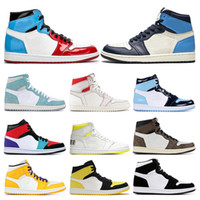 Wholesale mens white gym shoes for sale - Group buy New Mens basketball shoes s top Obsidian UNC Fearless PHANTOM TURBO GREEN Backboard PHANTOM GYM RED sport sneaker trainer size