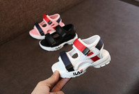 Wholesale baby boy beach sandals for sale - Group buy New Design Kids Shoes Toddler Summer Sandal Children Sneakers Soft breathable Comfortable Baby Boys Girls Kid Beach Shoes