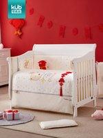 conjuntos de cama embalagem venda por atacado-Bebê cama anti-colisão em torno do outono e inverno algodão algodão do bebê pacote de cama sete conjuntos de cama infantil