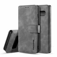 ingrosso cassa del portafoglio di libri-Custodia portafoglio in pelle retrò caso di vibrazione del basamento della cassa del telefono per Samsung S10 Plus S10 S9 S8 Huawei P20 Pro Mate 20