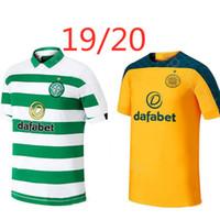 maillots de football thai achat en gros de-Celtic BITTON BROWN Rogić maillot de football 2019 2020 Accueil CHRISTIE loin Celtic FC 19 20 nouveau top chemise de football de qualité thai
