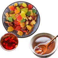 Wholesale hibiscus teas for sale - Group buy Hot Fruit Tea Flower Fruit Grain Tea Dry Fresh Handmade Luoshen Flower Hibiscus Healthy Food Scented Tea