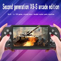 Wholesale mp4 mp5 games for sale - Group buy X9S Video Game Console X9 S X7 Plus G ROM inch HD Screen Handheld Game Player MP3 MP4 MP5 Player Video Camera Portable Game Console