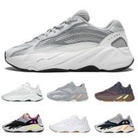 farbenfrohe athletische schuhe großhandel-700 V2 Salt Wave Mauve OG Solid Grey 3 Mt Trägheit Static Geode Damen Herren Designer Schuhe Nähte Farbe Leichtathletik Sport Turnschuhe