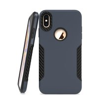 Wholesale slip resistant phone cases for sale – best In Stock For Iphone Plus X XS MAX XR PC TPU Drop Non Slip Scratch Resistant Design Phone Case Cover