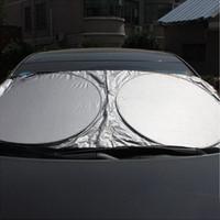 windschutzscheibe aufkleber für honda großhandel-Windschutzscheibe Sonnenschirm Emblem Für BMW ford toyota honda opel reynolds Auto Styling autoaufkleber