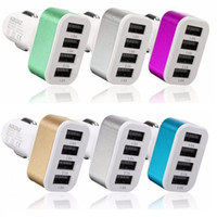 Wholesale chinese socket adapter for sale - Group buy Nokoko Usb Ports Metal Car Charger Auto Power Adapter Socket Chargers For Samsung S8 S10 note htc android phone gps pc