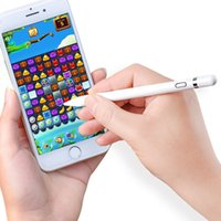 ipad stylus pen feinen punkt großhandel-Stylus Pen-Touch Screen für Tablet iPad iPhone Samsung Huawei Fine Point Bleistift für IOS Android Aktiv kapazitive Touchscreen