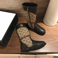 Wholesale kids long boots for sale - Group buy girl shoes high end girls long boots kids fashion shoes