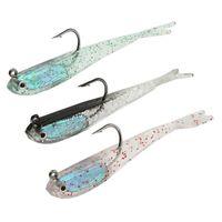 Wholesale lead lures resale online - 10pcs color cm g Leads Hook Fishing Hooks Fishhooks Soft Baits Lures Artificial Bait Pesca Fishing Tackle Accessories