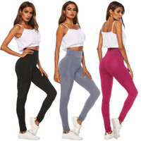 Wholesale lace yoga pants resale online - Women s Designer Sports Pants Leggings Summer P Letter Tights Skinny Trousers Bodycon Milk Fiber Quick Dry Jogging Yoga Tracksuit Pant C415