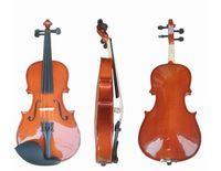 instrumente musicals china großhandel-Handmade Violine Professionelle Massivholz Violine 4/4 Musikinstrumente China Violine Ahorn Fichte mit Etui