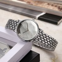 Wholesale dress watches online - 2019 NEW Fashion Women s diamond brand Wathces Luxury Multi color Silver Black Rose Gold Stainless steel Ladies Dress Watch