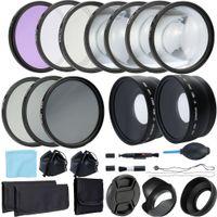 Wholesale 52mm dslr resale online - enses Accessories Camera Filters Andoer Professional mm mm Lens and Filter Bundle Complete DSLR SLR Compact Camera Accessory Kit Phot