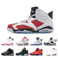 Wholesale best flat boots shoe resale online - Best discount s Alternate Angry bull Black Cat Carmine Basketball Shoes Mens Oreo high White Infared Sport Blue UNC Sneakers size