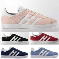 ingrosso scarpe sportive del campus-NUOVO Gazelle Casual Shoes Campus Pop Girls and Boys GAZELLE OG piatto Superstar nero grigio rosa blu sport Sneakers dimensioni 36-45