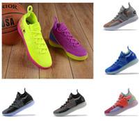 zoom heiß großhandel-Heiße Verkäufe KD11s Basketballschuhe Kevin Durant 11 Zoom Laufen Athletisch weg von den weißen LuxuxkD EP-Auslese-niedrigen Turnschuh-Designerschuhen der Schuhe