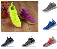 Wholesale kd lighting shoes resale online - Hot sales KD11s basketball shoes Kevin Durant Zoom running Athletic off shoes white luxury KD EP Elite Low Sport Sneakers designer shoes