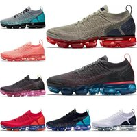 Wholesale blue lace sandals for sale - Group buy 2019 Cushion fly Running shoes Mens Triples White Black Cool Grey TPU Trainers fashion luxury mens women designer sandals shoes