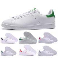hot sales dbe53 4ed7e Adidas Stan Smith TOP qualité nouvelle stan chaussures de mode marque smith  baskets en cuir casual hommes femmes sport jogging baskets classiques ...