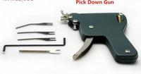 ingrosso trasporto libero della pistola del selezionamento di blocco-Alta qualità e miglior prezzo LOCK PICK strumenti di blocco porta New Downward Pick Gun spedizione gratuita