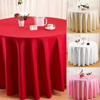 ingrosso decorazioni gialle bianche nere-Fashion New Wedding Banquet Tovaglia Home Restaurant Washable Round Rectangle Table Cover Moda Banchetto di nozze Tovaglia