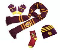 ingrosso sciarpa da scarpe da ginnastica-Harri Potter Sciarpe Sciarpe Hat Touch Gloves Grifondoro / Serpeverde / Tassorosso / Corvonero Sciarpe Hat Touch Gloves Scarf