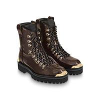 botas de deserto dos homens venda por atacado-Desenhadores Mens Botas Mulheres Star Trail Plataforma Bota De Deserto Marcas De Luxo Outland Marrom Preto Martin Botas de Inverno Botas de Neve Sapatos de Trabalho