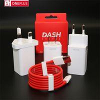 4a ladegerät großhandel-Original OnePlus 6t 6 5T 5 3T 3 Handy Dash-Ladegerät Smartphone 5V / 4A Schnellladung USB-Wandschnelladapter