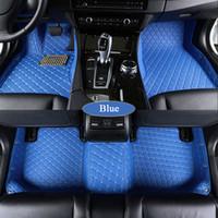 Custom car floor mats for Honda fit CRZ CRV URV XRV HRV Accord Civic City Vezel Crosstour ENVIX car-styling carpet floor liner