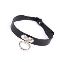 Wholesale dog sex collar resale online - Dog Collar Adult Games Bondage Restraints Sex Toys for Couples Fetish Collars Erotic Sexy Necklace T191116