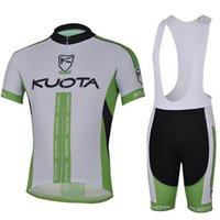 Wholesale kuota cycling jersey 3xl 4xl resale online - KUOTA Summer Cycling short sleeve Jersey Pro Team Ropa Ciclismo Hombre Clothing bib Shorts Breathable Bike MTB Maillot Cycling Sets