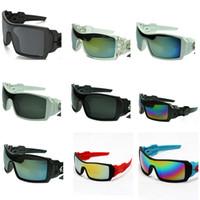 marcas de gafas de sol de bicicleta al por mayor-Gafas de sol grandes Wrap Round Bicycle Goggles Versión alta Anteojos Nombre Marca Diseñador Gafas de sol graduadas Pilot 10PCS