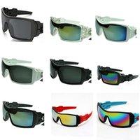marcas de óculos de sol de bicicleta venda por atacado-Grandes Óculos De Sol Envoltório Rodada Óculos De Bicicleta de Alta Versão Em Execução Óculos Nome Prescrição Da Marca Óculos De Sol Piloto 10 PCS