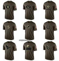 nuevas fotos de chicas coreanas al por mayor-Oakland Orleans Minnesota Miami Cleveland Browns Chicago hombres Jets osos Dolphins Vikings sain Raider Salute To Servicio camiseta