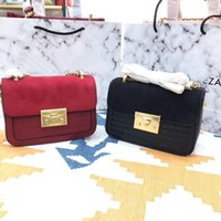 Wholesale women accessories for sale - Crossbody Bags With Colorful Strap Accessories Fashion Large Capacity Composite Handbags PU Leather Totes Black Red