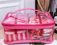 sacos de recolha limitado venda por atacado-Sacos de cosméticos Coleção de Férias Saco de Maquiagem Edição Limitada Coleção de Maquiagem Sacos VS Flores sacos bonitos 3 peças