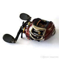 Wholesale fishing reel left handed for sale - Group buy Fishing Reel Left Right Hand Type Baitcasting Reels Casting Low Profile Clever Easy Carry For Fishing Exquisite Practical Style yd bZ