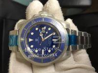 Wholesale watches for dive for sale - Group buy Sport Watches For Men s V7 Version Automatic ETA Watch Blue Ceramic Bezel LB Dive Men N Sub Factory Perpetual Wristwatches