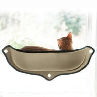 Wholesale pet swing resale online - Cat Hammock Cat Perch Window Seat Suction Cups Space Saving Pet Resting Seat Soft Swing Bed Sunbath for Cats With Cushion