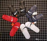 аква корова оптовых-Tide Check Mark тапочки Летние любители тапочки Мода 4 цвета обуви Мужские пляжные тапочки Домашние тапочки