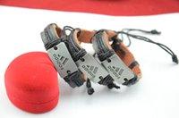 perlen armband preisgestaltung großhandel-Fabrikpreis Nagelneue Mischung 36pcs Wholesale verlost Perlen-Borten-handgemachte Art- und Weisefreundschafts-Armbänder Freies Verschiffen