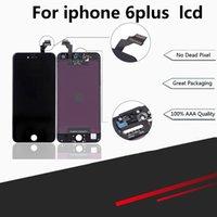 outils d'assemblage iphone achat en gros de-Pour Iphone 6 PLUS remplacement de l'écran LCD Écran Tactile Digitizer Frame Assembly Ensemble Complet Remplacement Écranand outils